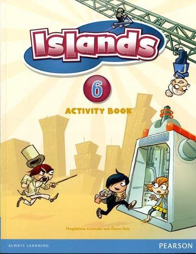 9781408290798: Islands Level 6 Activity Book plus pin code