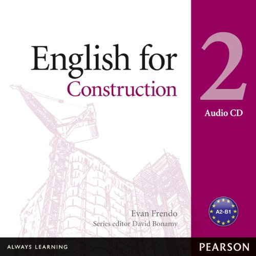 9781408291467: English for Construction 2 Audio CD (Vocational English Series)