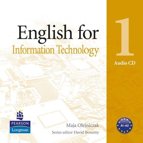 9781408291474: English for Information Technology Level 1 Audio CD (Vocational English Series)
