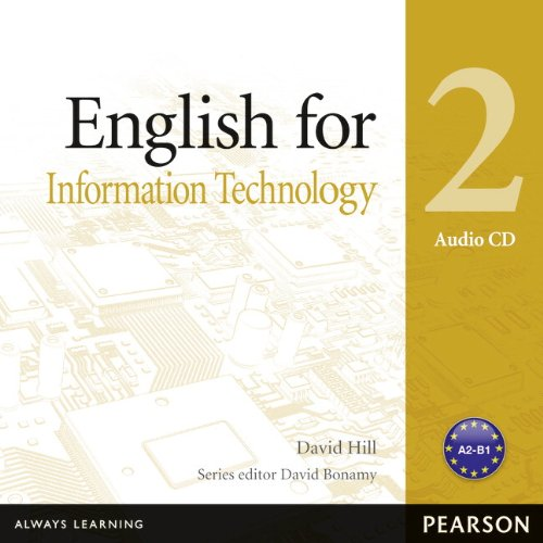 9781408291481: English for Information Technology 2 Audio CD (Vocational English Series)