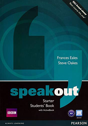 9781408291818: Speakout Starter Students Book with DVD/Active Book Multi-ROM Pack