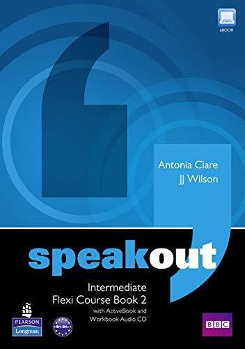 9781408292006: Speakout Intermediate Flexi Course Book 2 Pack