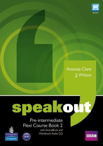 9781408292020: Speakout Pre-Intermediate Flexi Course Book 2