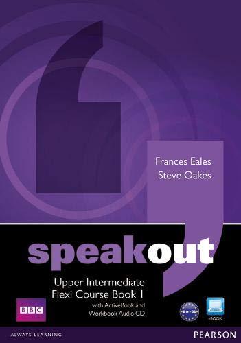 9781408292037: Speakout Upper Intermediate Flexi Course Book 1