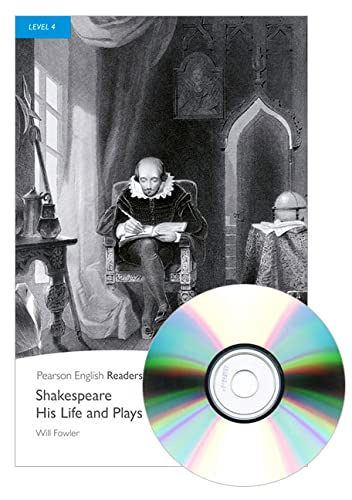 9781408294413: Penguin Readers 4: Shakespeare-His Life and Plays Book & MP3 Pack (Pearson English Graded Readers) - 9781408294413