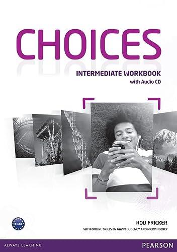 9781408296158: Choices Intermediate Workbook & Audio CD Pack