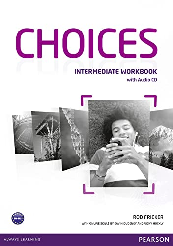 9781408296158: Choices Intermediate Workbook & Audio CD Pack