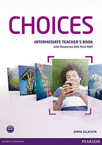 9781408296172: Choices Intermediate Teacher's Book & Multi-ROM Pack