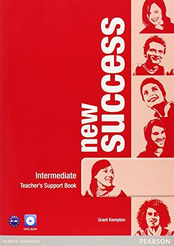 9781408297117: New success. Intermediate. Teacher's book. Con espansione online. Per le Scuole superiori. Con DVD-ROM
