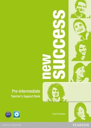 New Success Pre-Intermediate Teacher's Book & DVD-ROM: Kempton, Grant (Author)/