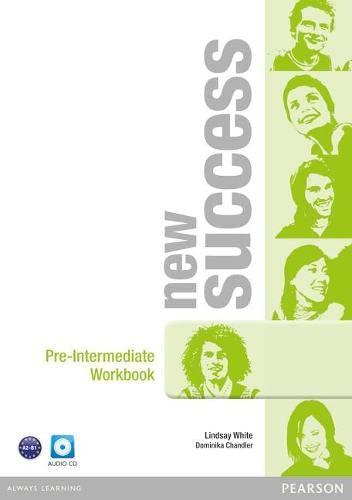 9781408297148: New Success Pre-Intermediate Workbook & Audio CD Pack