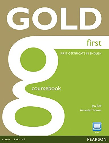 9781408297896: Gold First Coursebook (con Active Book CD-Rom)