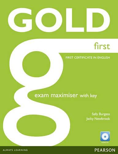9781408297902: Gold First Maximiser with Key and Audio CD Pack