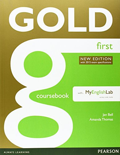 9781408297926: Gold First New Edition Coursebook with FCE MyLab Pack