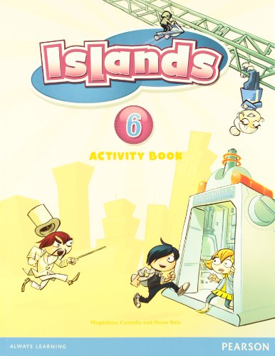9781408298022: Islands Spain Level 6 Activity Book Pack