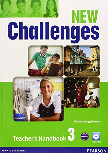 9781408298428: New challenges. Teacher's book. Per le Scuole superiori. Con Multi-ROM. Con espansione online: New Challenges 3 Teacher's Handbook & Multi-ROM Pack