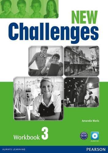 9781408298435: New Challenges 3 Workbook & Audio CD Pack