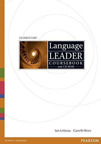 9781408298503: Language Leader Elementary Coursebook and CD-Rom and MyLab Pack (compound)