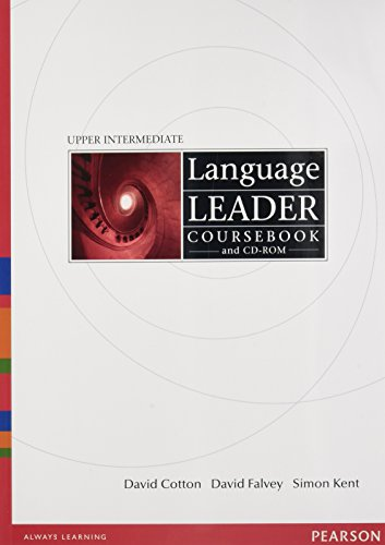 9781408298534: Language Leader Upper Intermediate Coursebook and CD-Rom and MyLab Pack (compound)