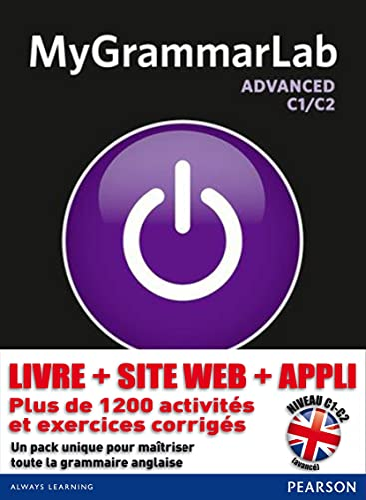 9781408299111: MyGrammarLab. Advanced (Longman Learners Grammar)