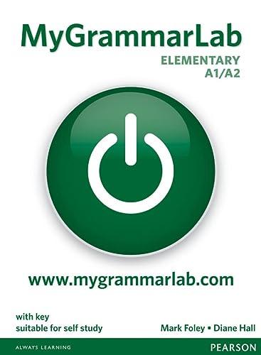 9781408299135: MyGrammarLab Elementary with Key and MyLab Pack (Longman Learners Grammar)