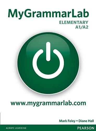 9781408299142: MyGrammarLab. A1-A2. No key-Piattaforma. Con espansione online. Per le Scuole superiori (Longman Learners Grammar)
