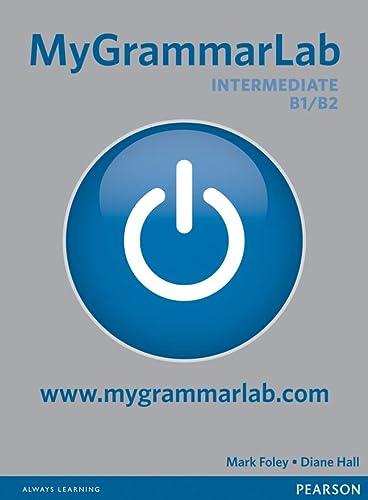 9781408299166: MyGrammarLab Intermediate without Key and MyLab Pack [Lingua inglese]