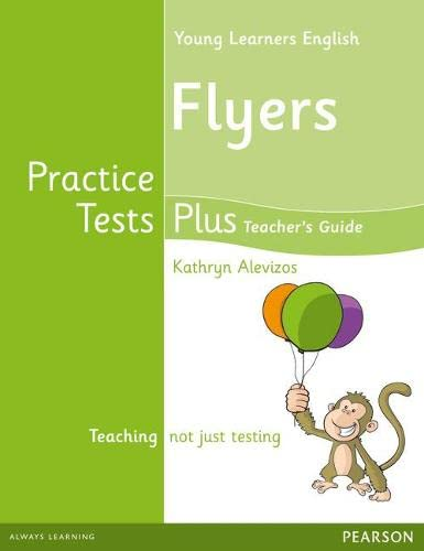 9781408299401: Young Learners English Flyers Practice Tests Plus Teacher's Book with Multi-ROM Pack