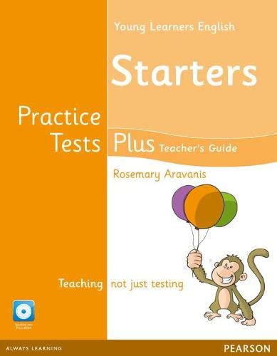 9781408299425: Young Learners English Starters Practice Tests Plus Teacher's Book with Multi-ROM Pack