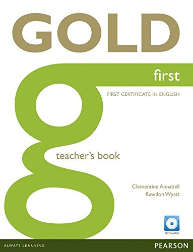 9781408299784: Gold First Teacher's Book with Test Master CD-ROM Pack