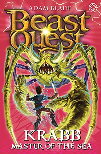 9781408304372: Beast Quest: 25: Krabb Master of the Sea