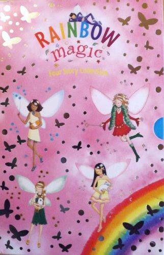 "9781408304822: Rainbow Magic: Four Story Collection: ""Katie the Kitten Fairy"", ""Bella the Bunny Fairy"", ""Georgina the Guinea Pig Fairy"", ""Stella the Star Fairy"""