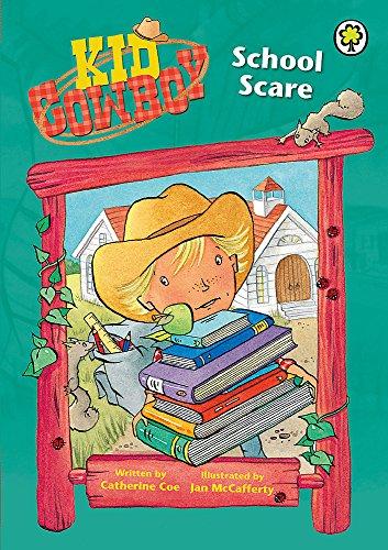 9781408306963: School Scare (Kid Cowboy)