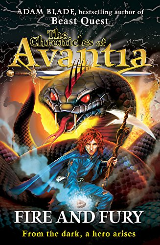 9781408307502: Fire and Fury (The Chronicles of Avantia)