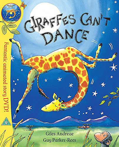 9781408309421: Giraffes Can't Dance [Paperback and DVD]