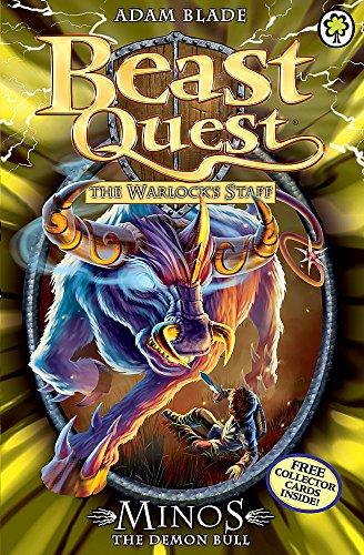 Minos the Demon Bull: Series 9 Book: Blade, Adam