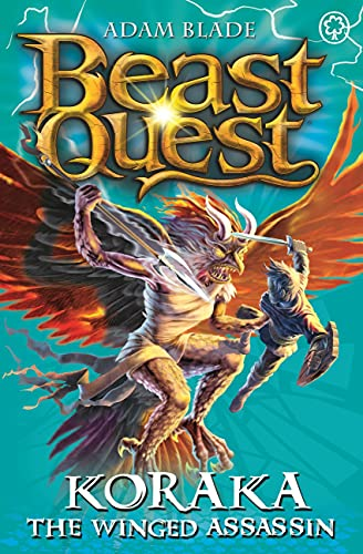 9781408313183: Beast Quest: 51: Koraka the Winged Assassin