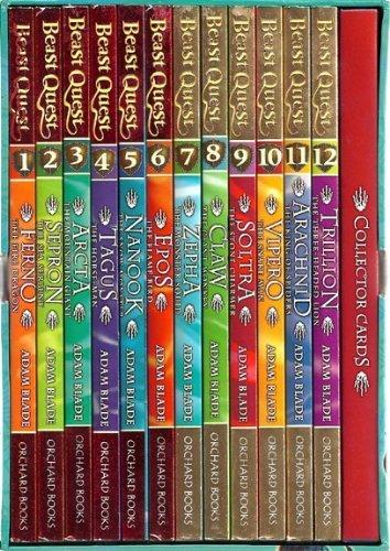 9781408314043: Beast Quest Series [Box set] by Blade, Adam