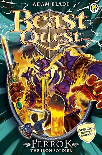 9781408318478: Beast Quest: Special 10: Ferrok the Iron Soldier