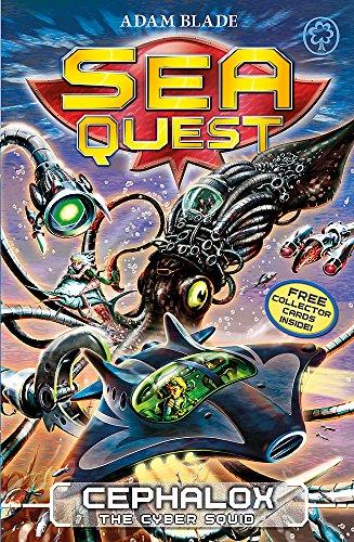 9781408318485: Cephalox the Cyber Squid (Sea Quest)