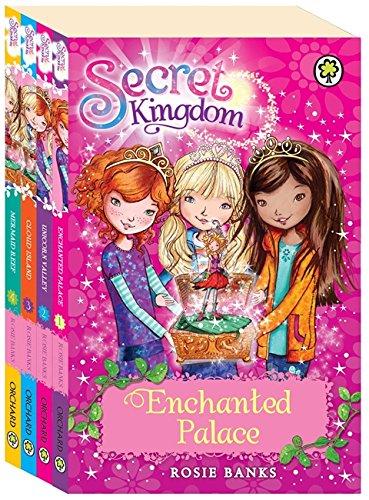 9781408324950: Secret Kingdom (Four book set)