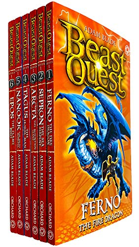 9781408325780: Beast Quest: Set Series 1