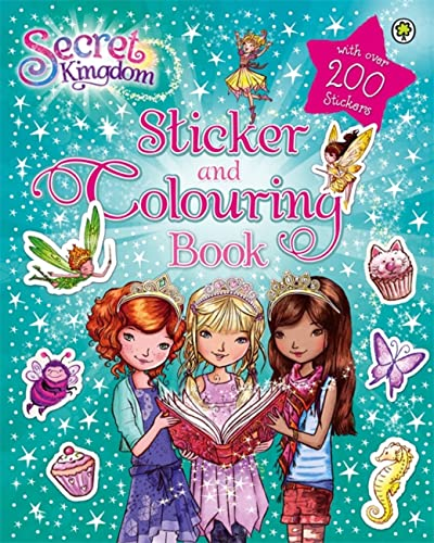 9781408330159: Secret Kingdom Sticker and Colouring Book