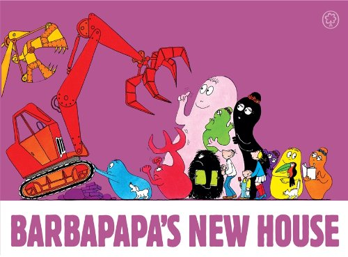 9781408331392: Barbapapa's New House