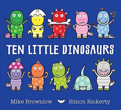 9781408334003: Ten Little Dinosaurs