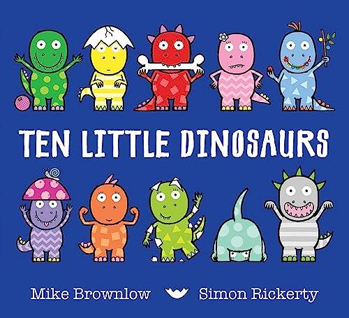 9781408334010: Ten Little Dinosaurs