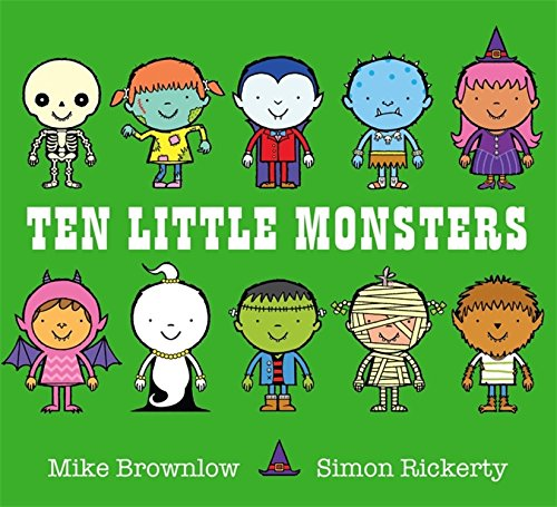 9781408334027: Ten Little Monsters