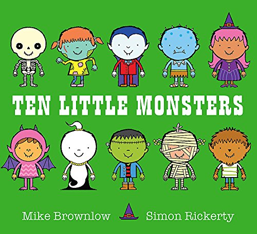 9781408334034: Ten Little Monsters