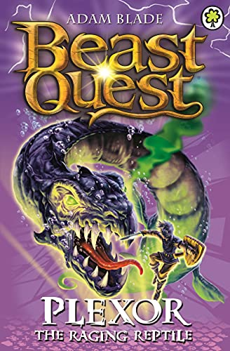 9781408334911: Beast Quest: 85: Plexor the Raging Reptile