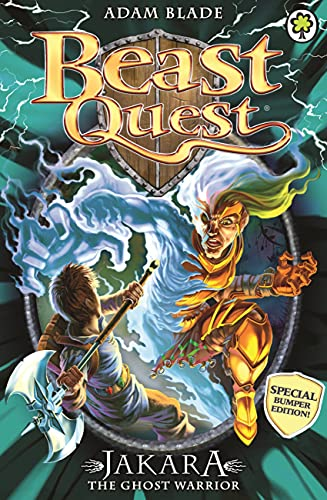 9781408334973: Beast Quest Special 15: Jakara the Ghost Warrior